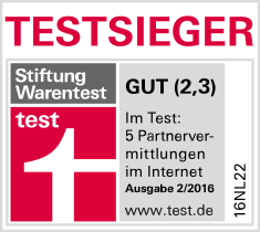 Parship Testsieger Stiftung Warentest 2/16