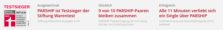 testbericht parship Bottrop