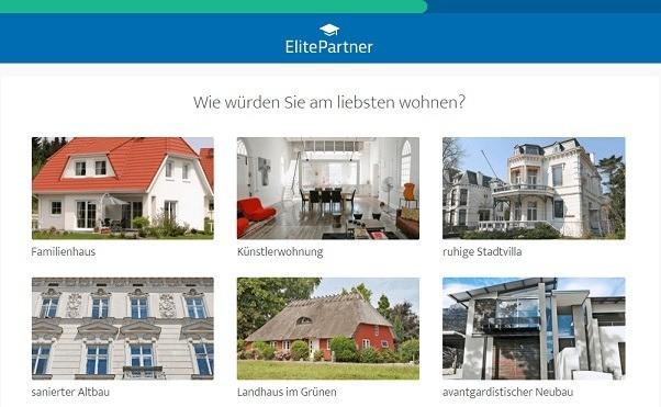 ElitePartner Testfrage Wohnen
