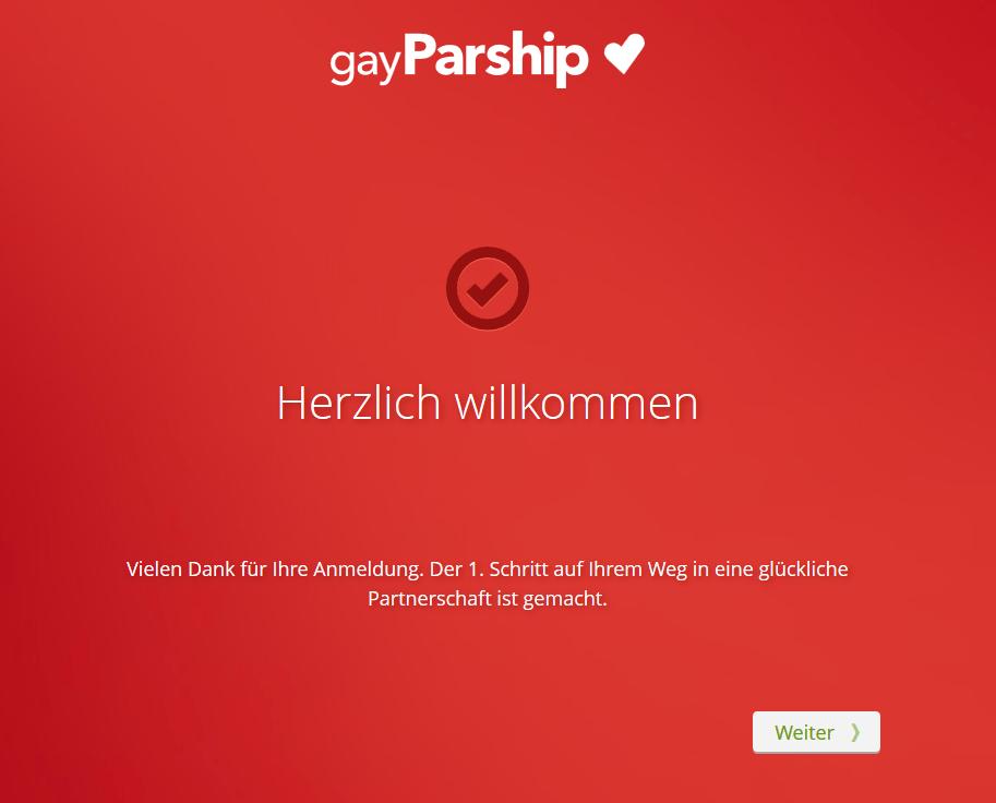 gayParship - Herzlich Willkommen!