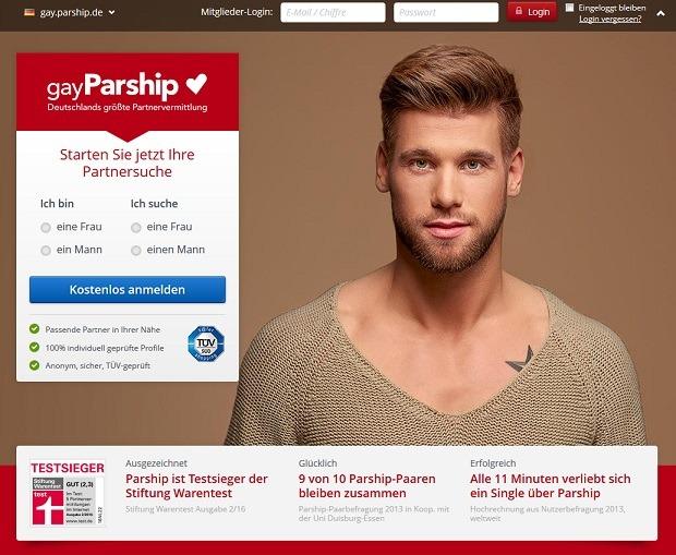 gayParship-Anmeldung